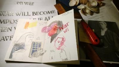 Emily's sketchbook.