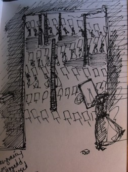 women's peace crusade sketch 1