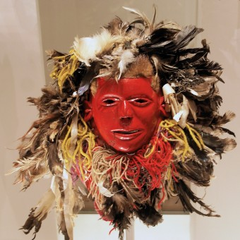 Late 20th century Chewa face mask from Malawi. Image © Hans Hillewaert