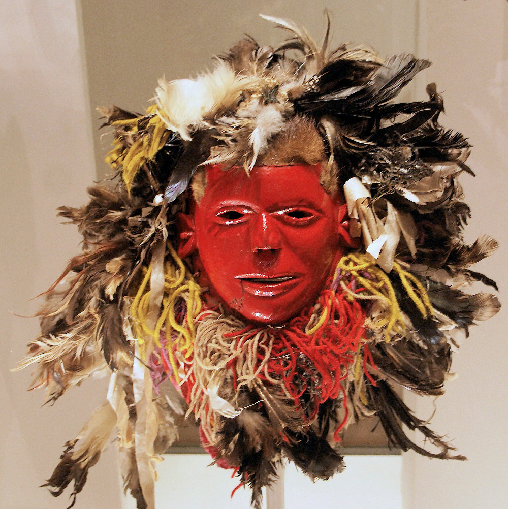 Late 20th century nyau face mask. Image © Hans Hillewaert