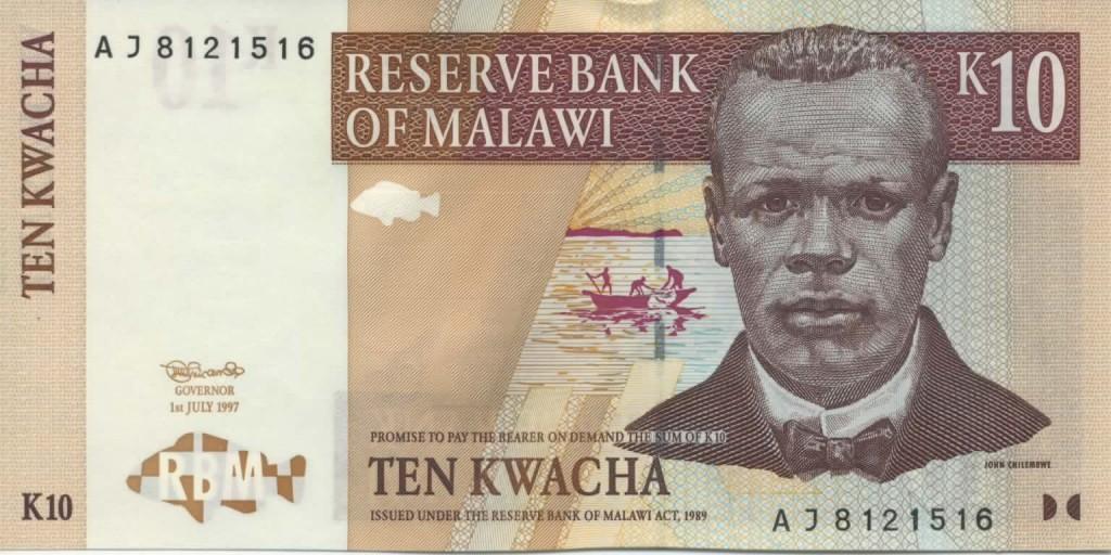 John Chilembwe on a Malawian banknote.