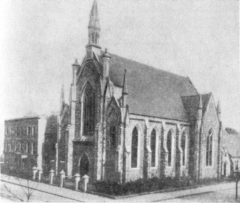 The Brotherhood Church in Southgate Road. Image: Wikimedia Commons.