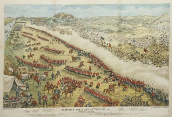 A painting of the Battle of Omdurman, 1989. Source: Wikimedia Commons.