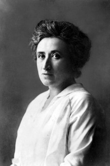 Rosa Luxemburg. Source: Wikimedia Commons.