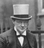 Winston Churchill (then First Lord of the Admiralty) in 1912. Source: Wikimedia Commons.
