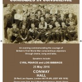 Comrades In Conscience flyer